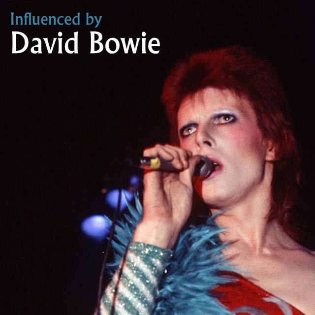 influenced by david bowie